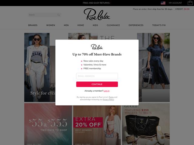 ruelala.com