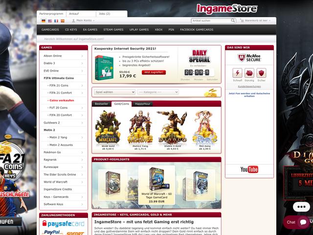 ingamestore.com