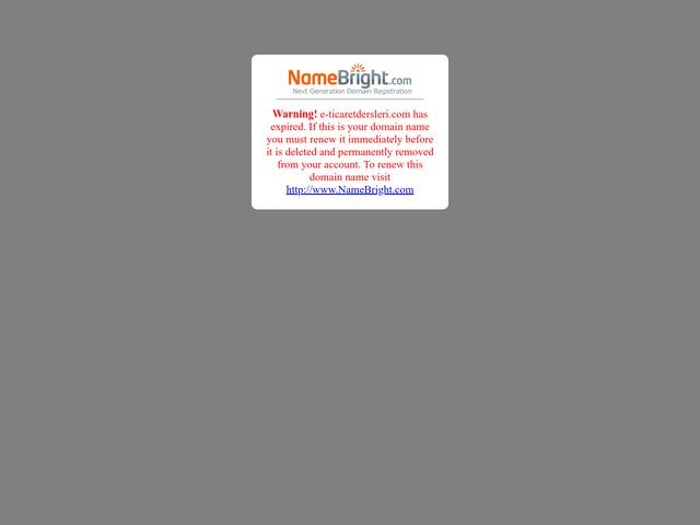 e-ticaretdersleri.com