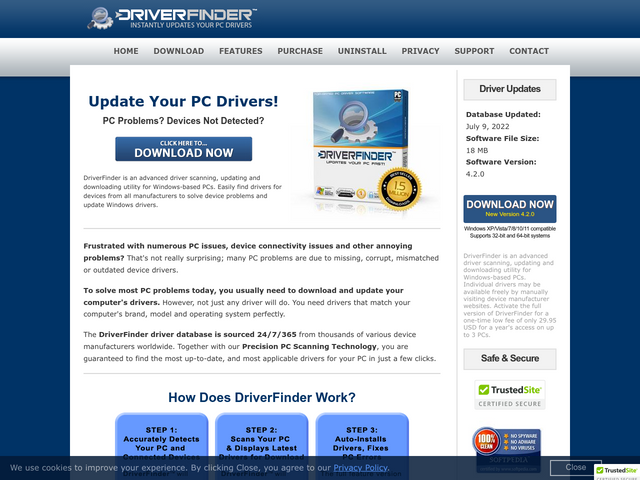 driverfinderpro.com