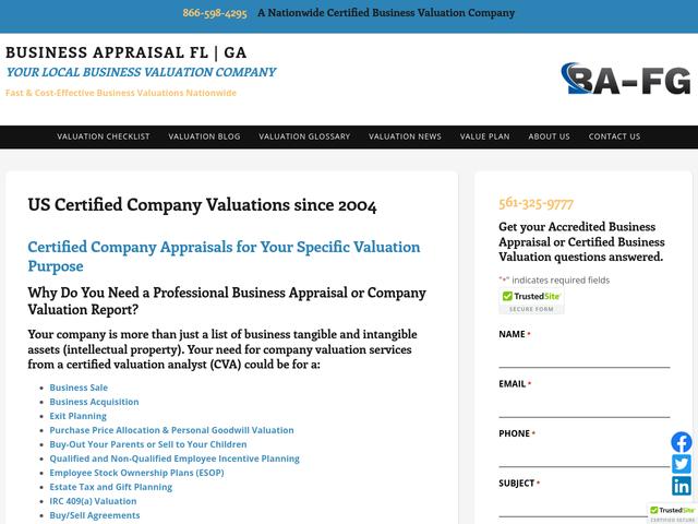 businessappraisalflorida.com