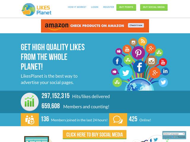 likesplanet.com